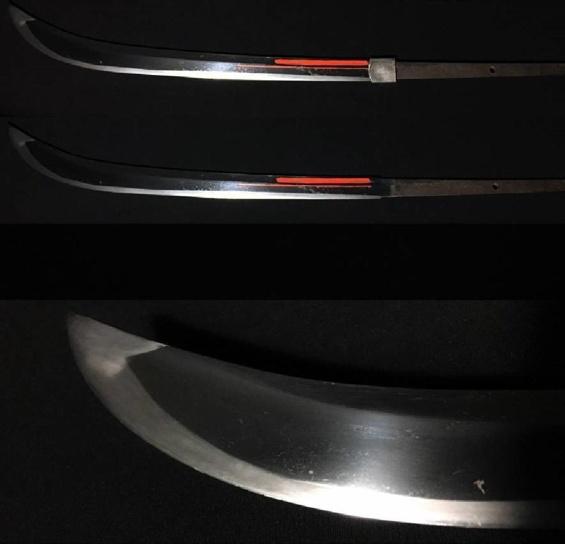 Japanese Naginata Sword Signed with a signature