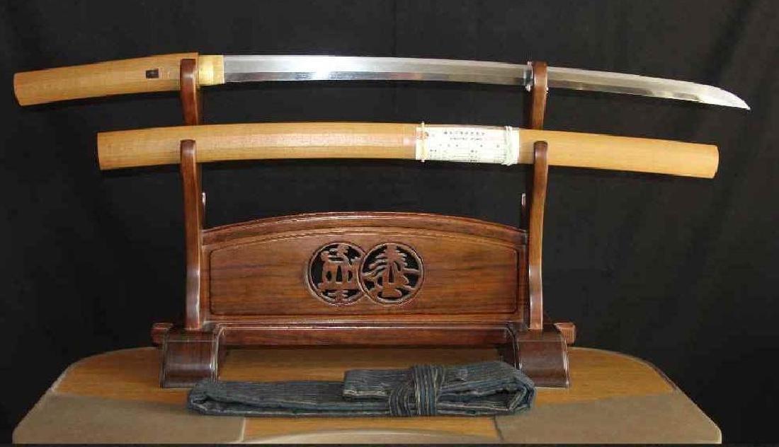 Fujiwara No Kami Kunimasa Japanese Nihonto Sword