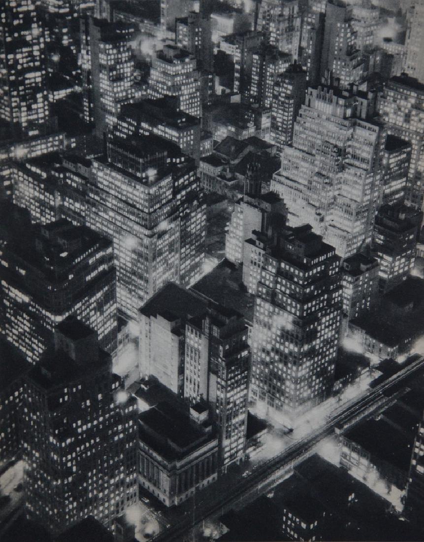 BERENICE ABBOTT - New York at Night, 1934