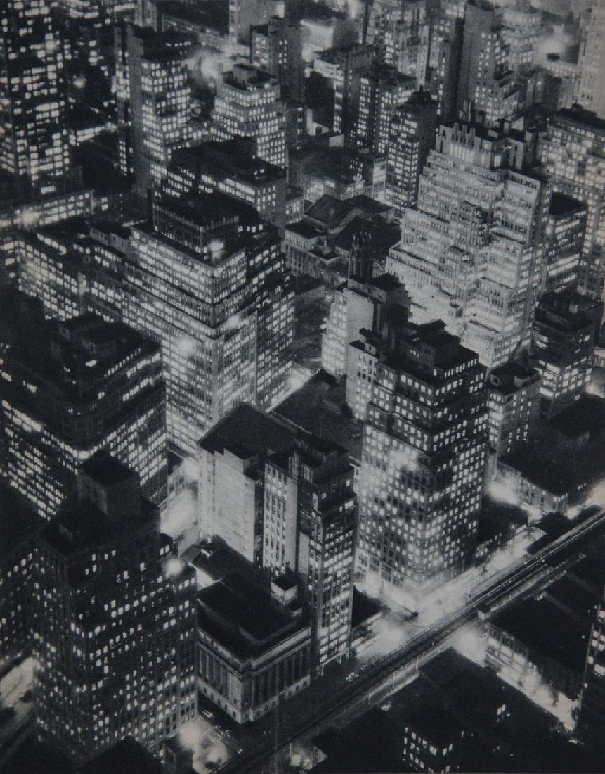 BERENICE ABBOTT - New York at Night, 1934
