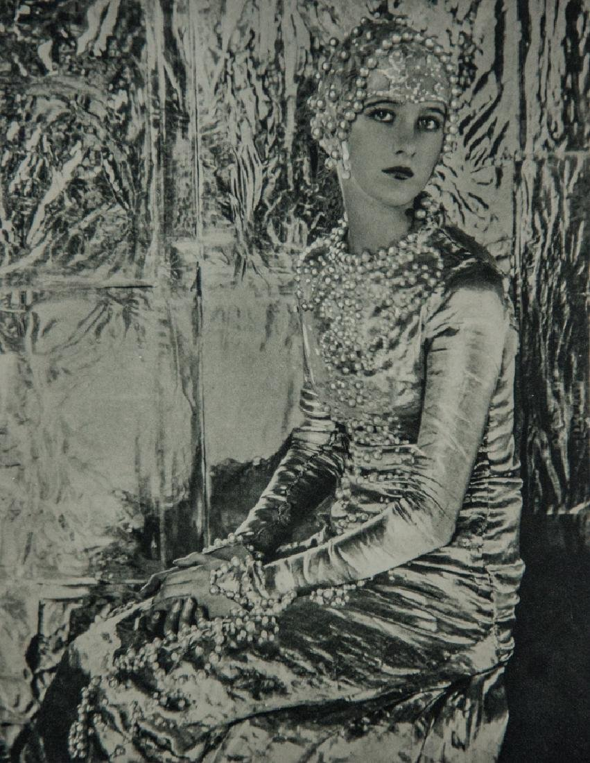CECIL BEATON - Baba, A Symphony in Silver