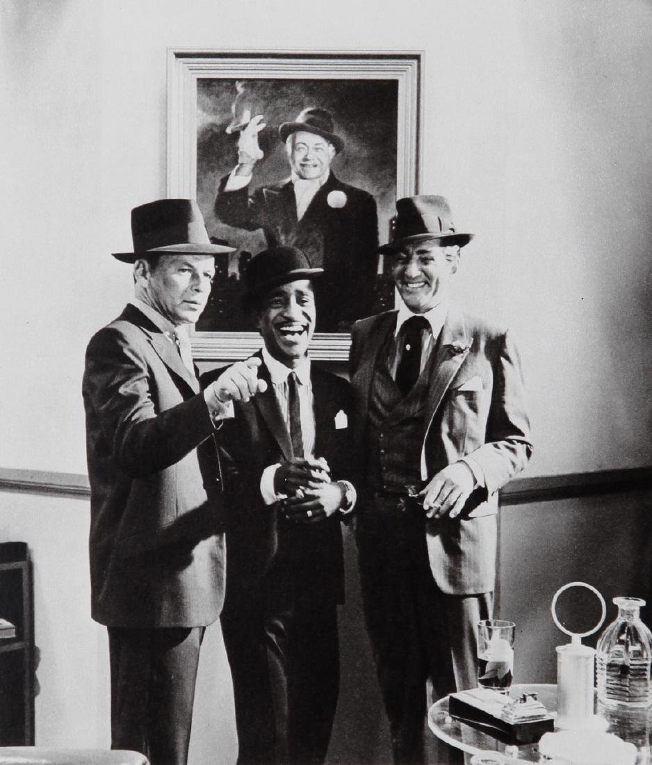 CECIL BEATON - Frank Sinatra Sam Davis Jr Dean Martin