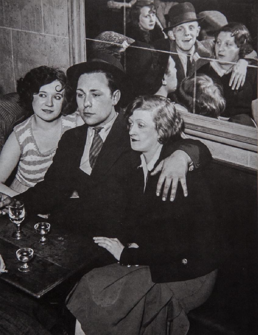 BRASSAI - Group at the Quatre Saisons, Paris, 1932