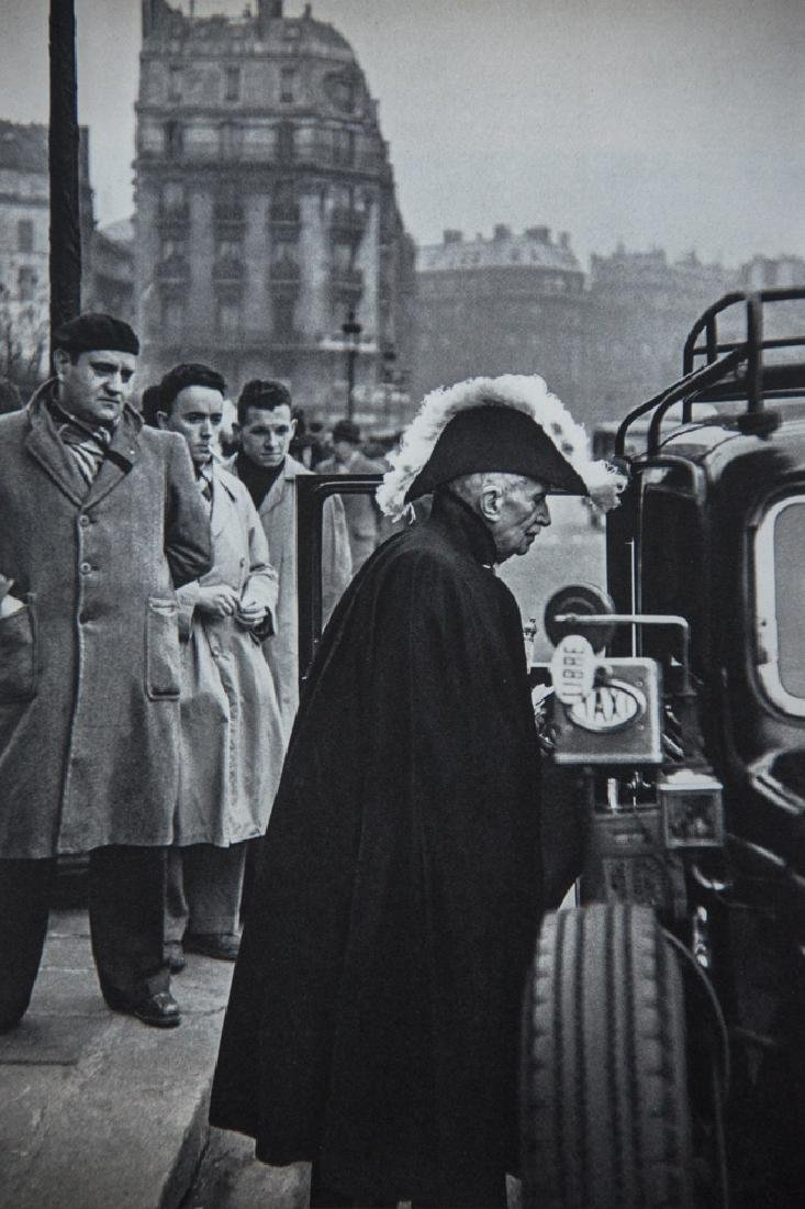Henri Cartier-Bresson, Member of the French Academy