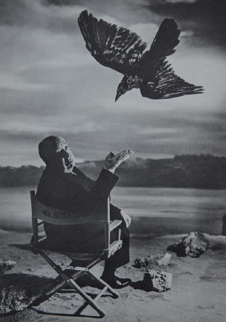 PHILIPPE HALSMAN - Alfred Hitchcock, Bird