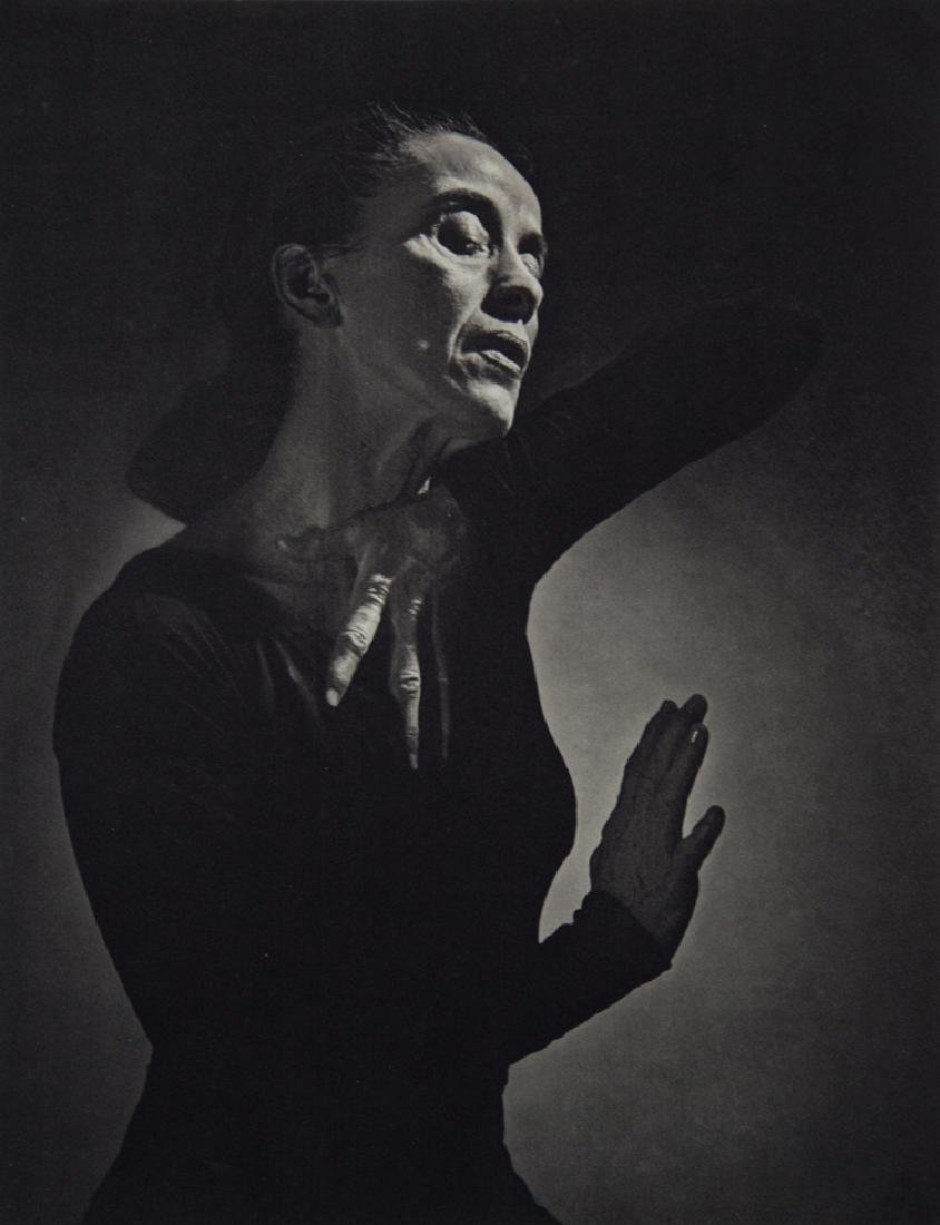YOUSUF KARSH - Martha Graham, Dancer, Choreographer