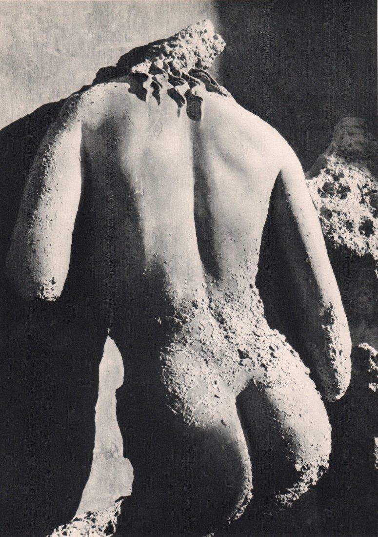 HERBERT LIST - Photograph of Greek Statue