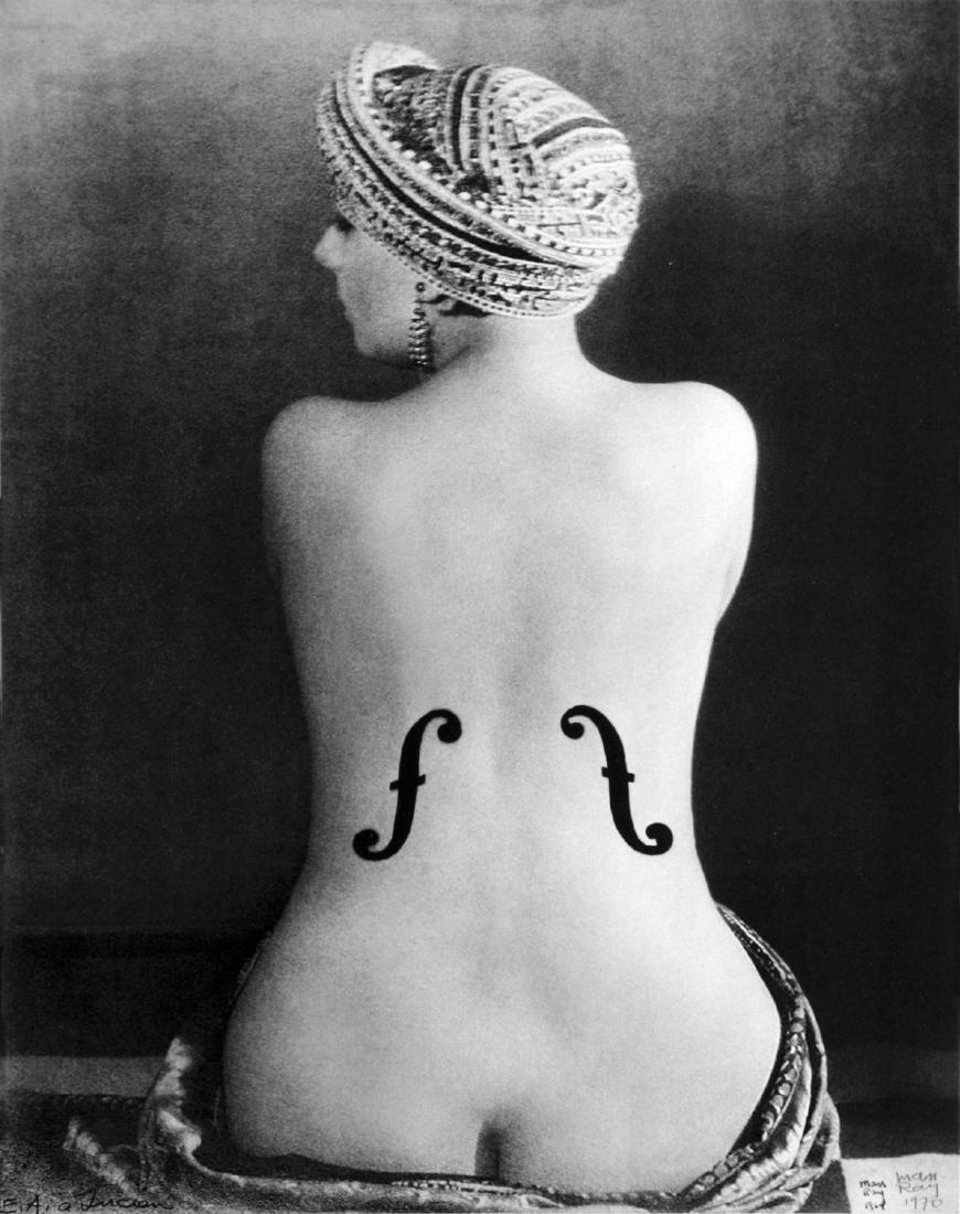 MAN RAY - Le Violon d'Ingres, 1924