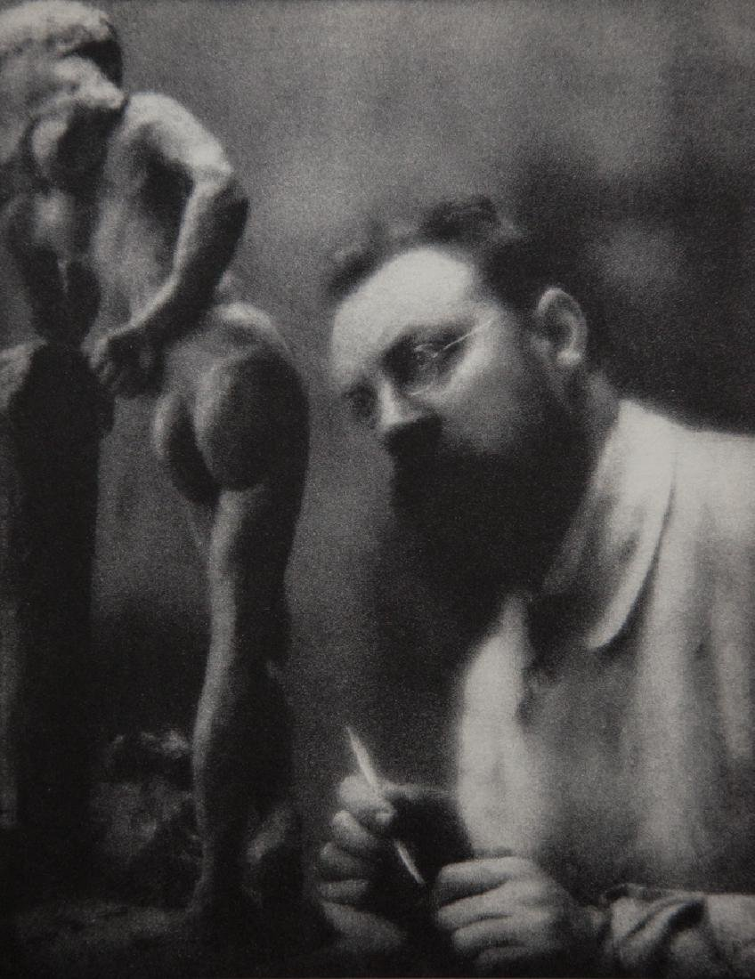 EDWARD STEICHEN - Henri Matisse and La Serpentine 1909