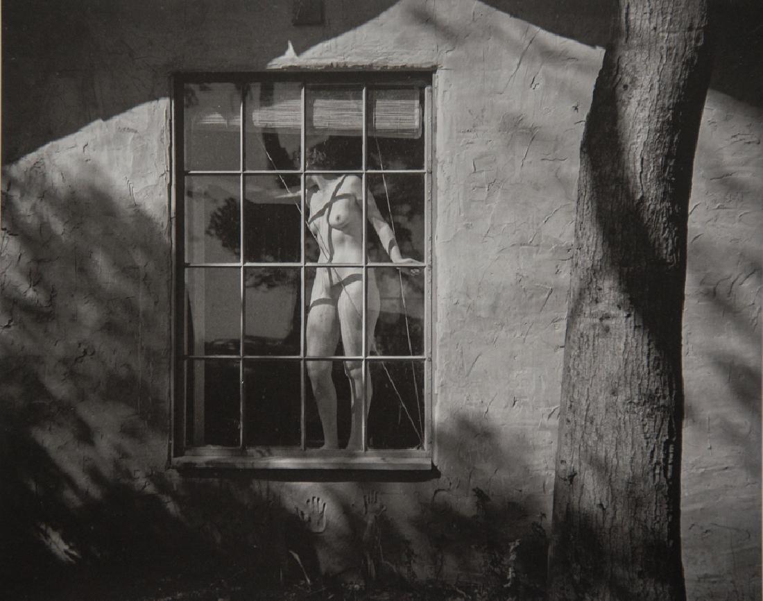 EDWARD WESTON - Nude in Window, 1945