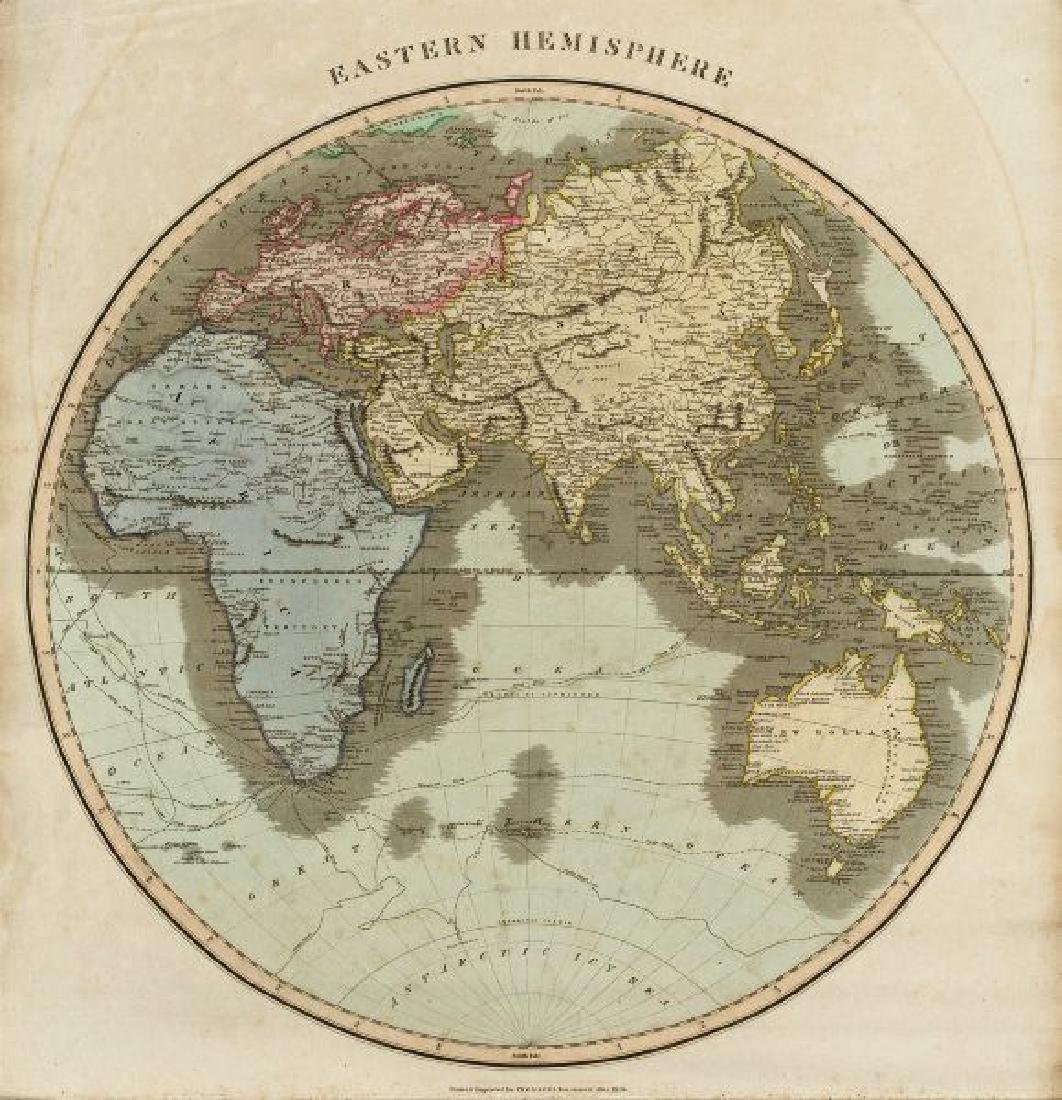 Thomson: Antique Map of Eastern Hemisphere, 1817