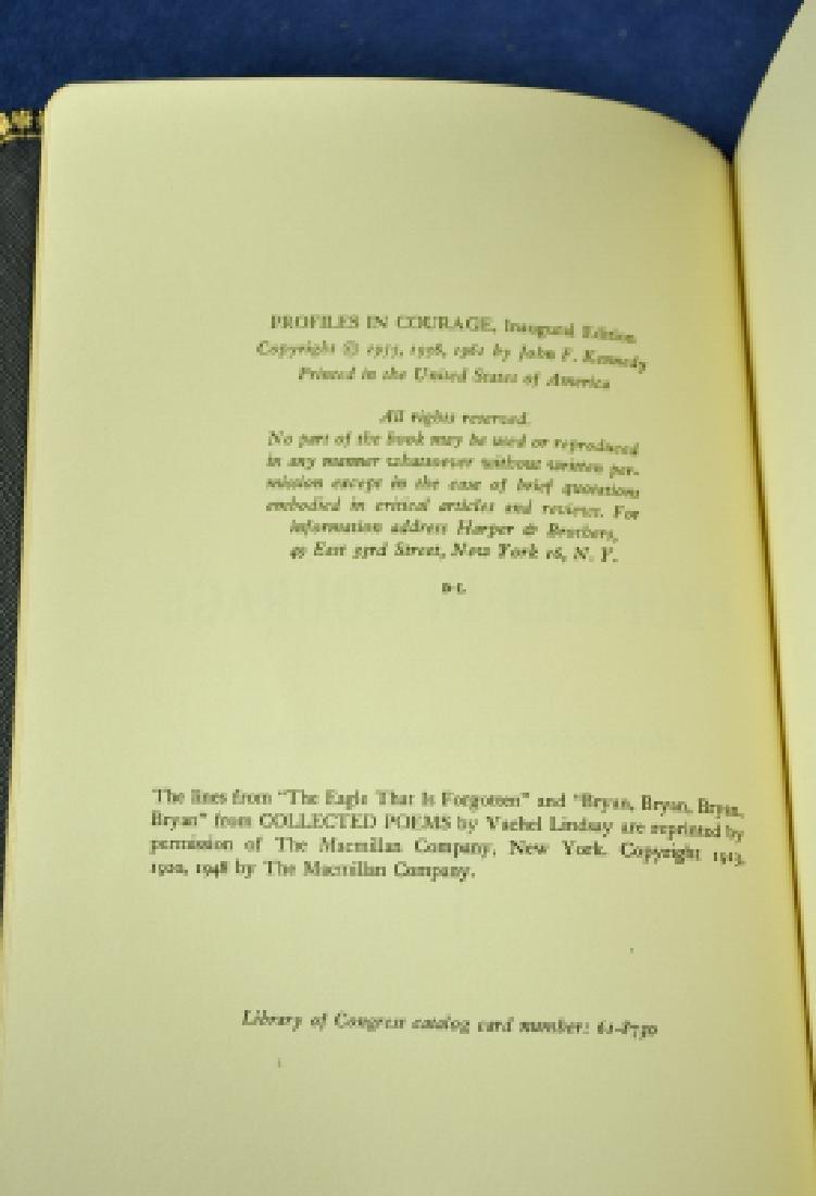 Profiles in Courage, Inaugural Ed John F Kennedy 1961 - 2