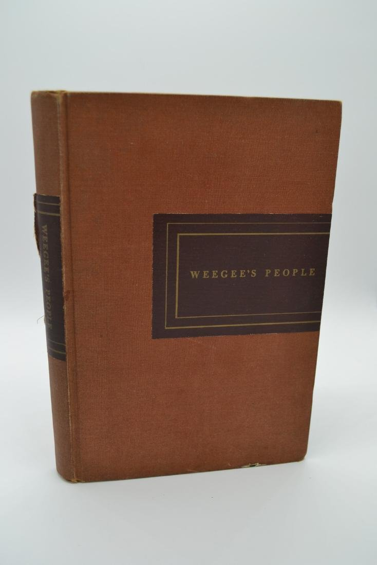 Weegee's People Weegee 1946 First Edition