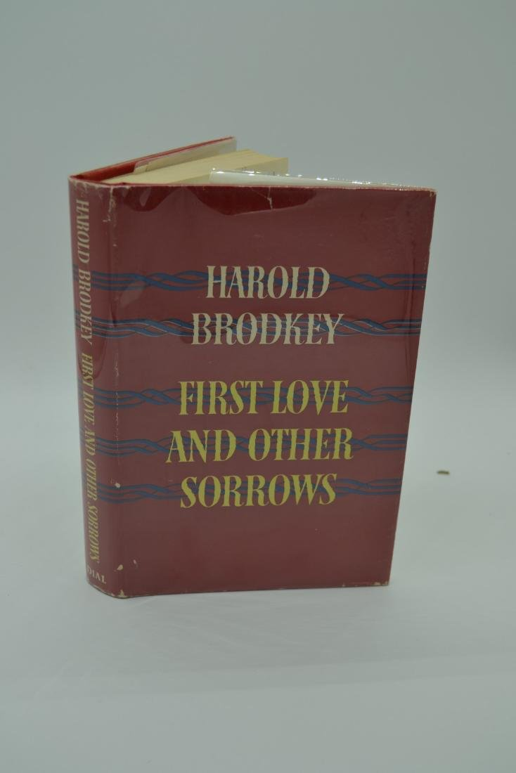 First Love and Other Sorrows Brodkey 1957 First Edition