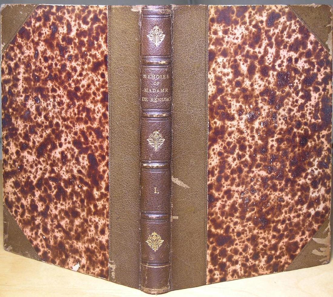 Memoirs of Madame de Rémusat 1880 Signed Audubon