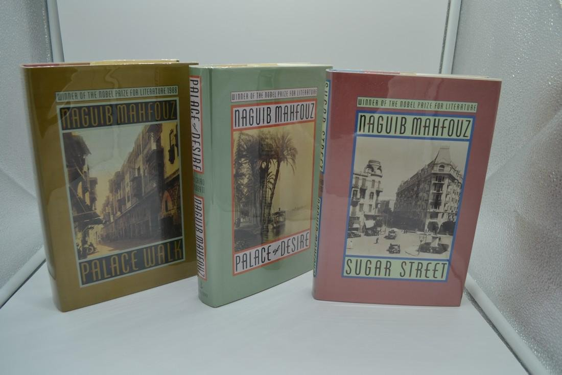 The Cairo Trilogy Mahfouz 1990-1992 First American Ed