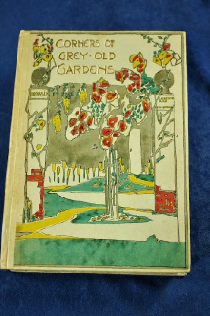 Corners of Grey Old Gardens Margaret Waterfield 1st Ed