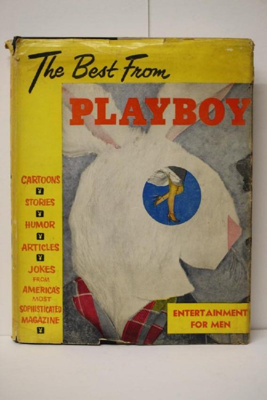 1954 First Ed The Best From Playboy Edited Hugh Hefner