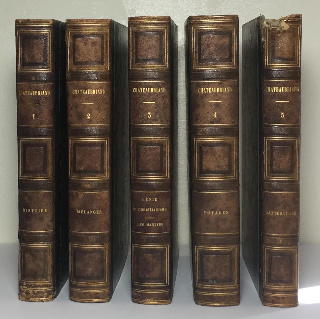 Oeuvres Complètes de M. Le Vicomte Chateaubriand 1843