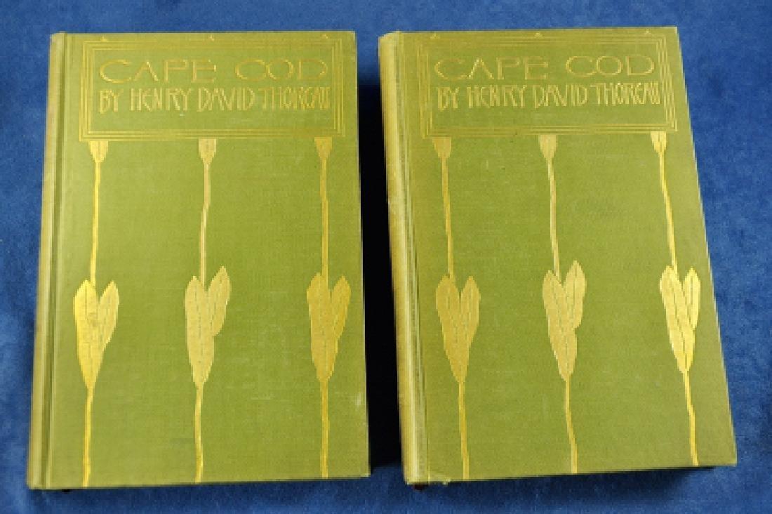 Cape Cod Henry David Thoreau 1896