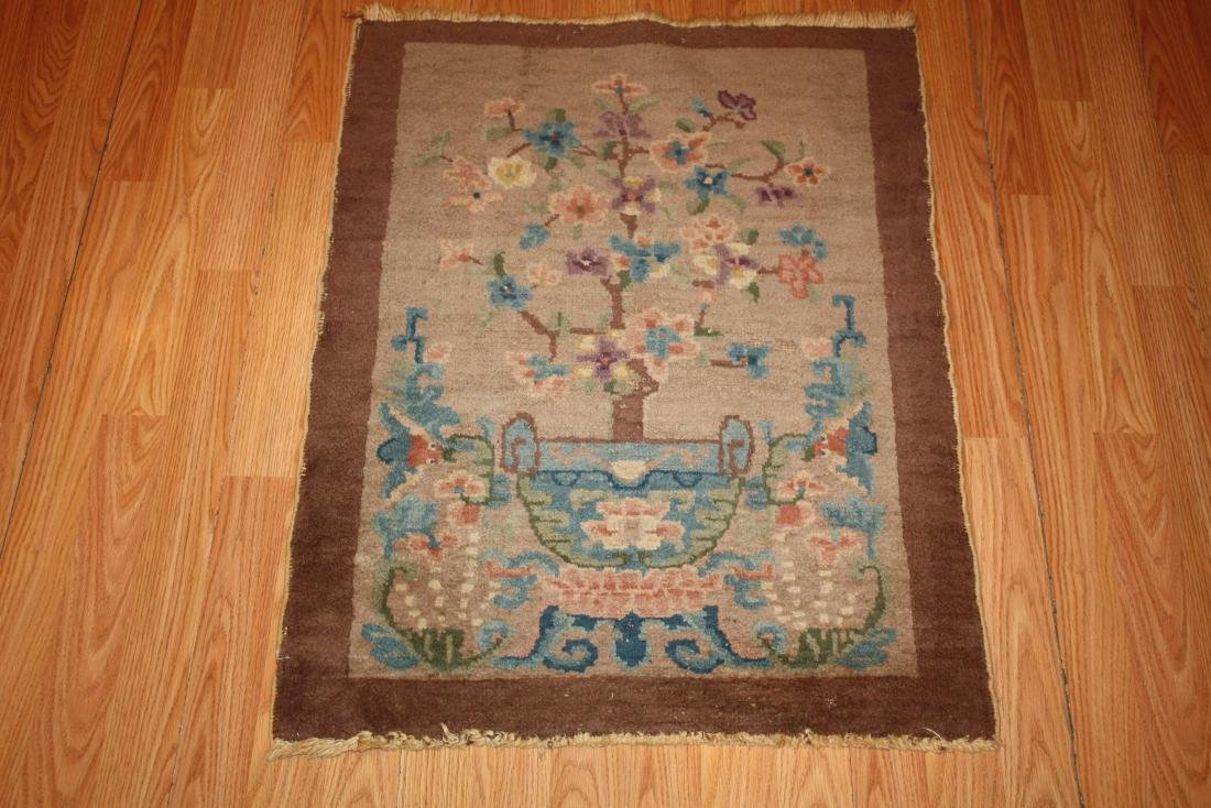 Antique Chinese Rug 2.2x2.10