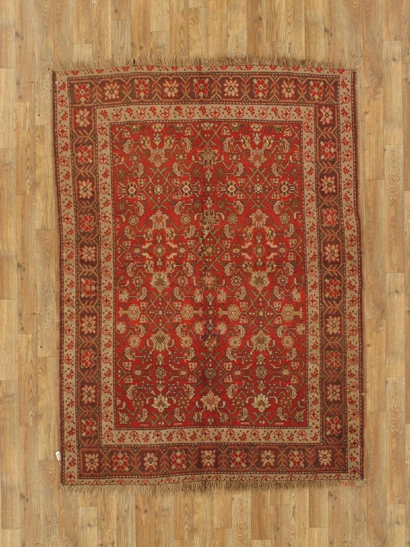 Vintage Persian Rug 4.4x5.10