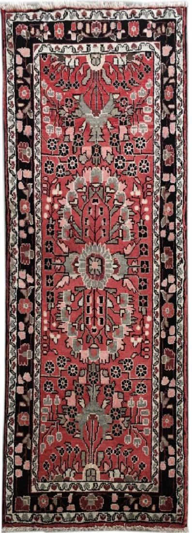 Hamadan Persian Wool Hand Knotted Accent Rug 2.8.x5.7