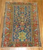 Vintage Persian Heriz Karaje Rug 3x42