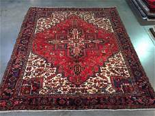 Authentic Persian Heriz Rug 8.5x10