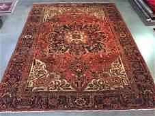 Stunning Persian Heriz Masterpiece Rug 9.10x12.10