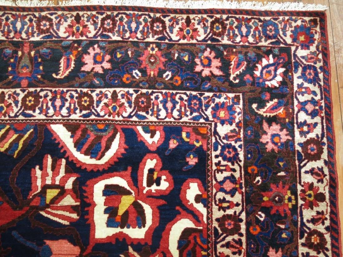 Vintage Persian Bakhtiar Bakhtiari Bidjar Rug 10.8x14.9 - 5