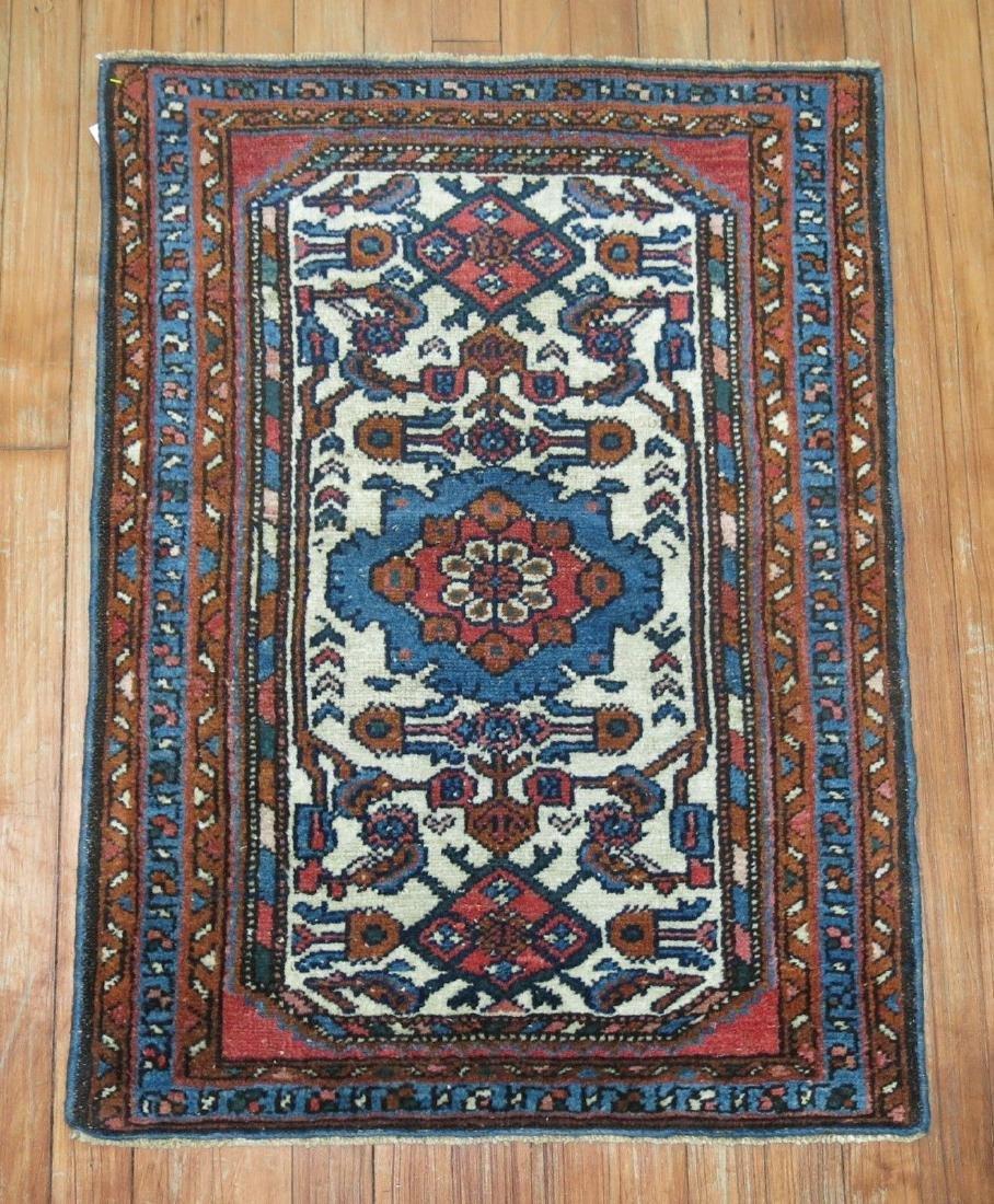Antique Persian Malayer Hamedan Rug 2.1x2.10