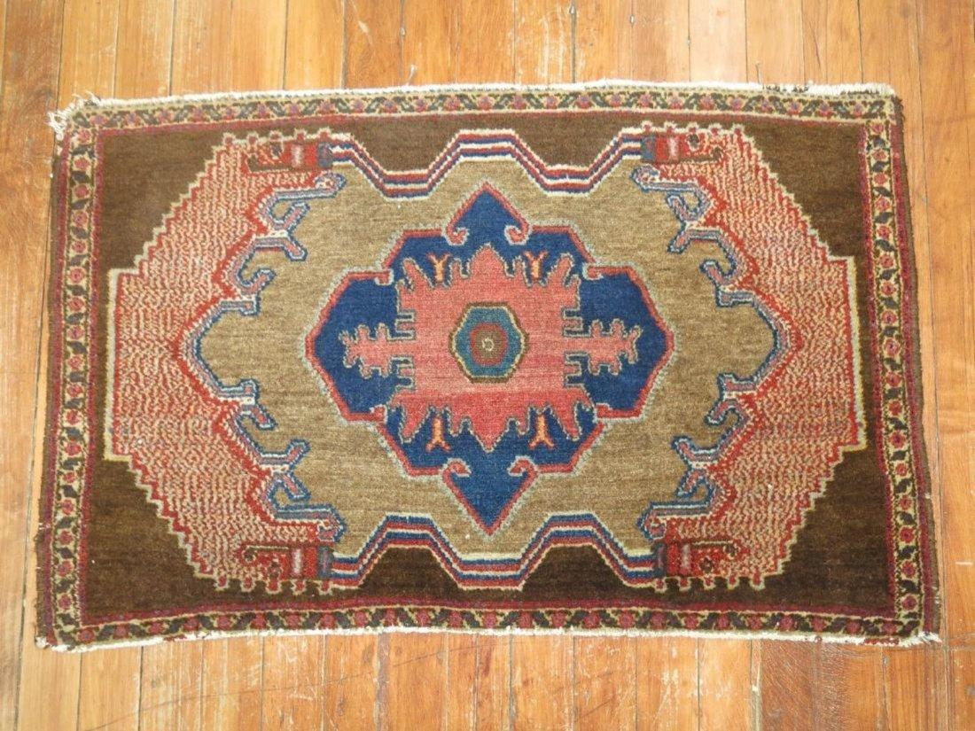 Antique Persian Senneh Rug 2.9x1.9