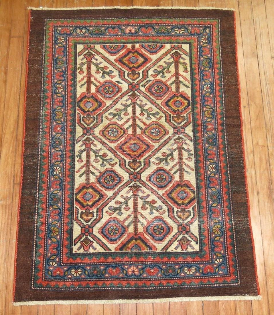 Antique Persian Serab Rug 2.10x3.11