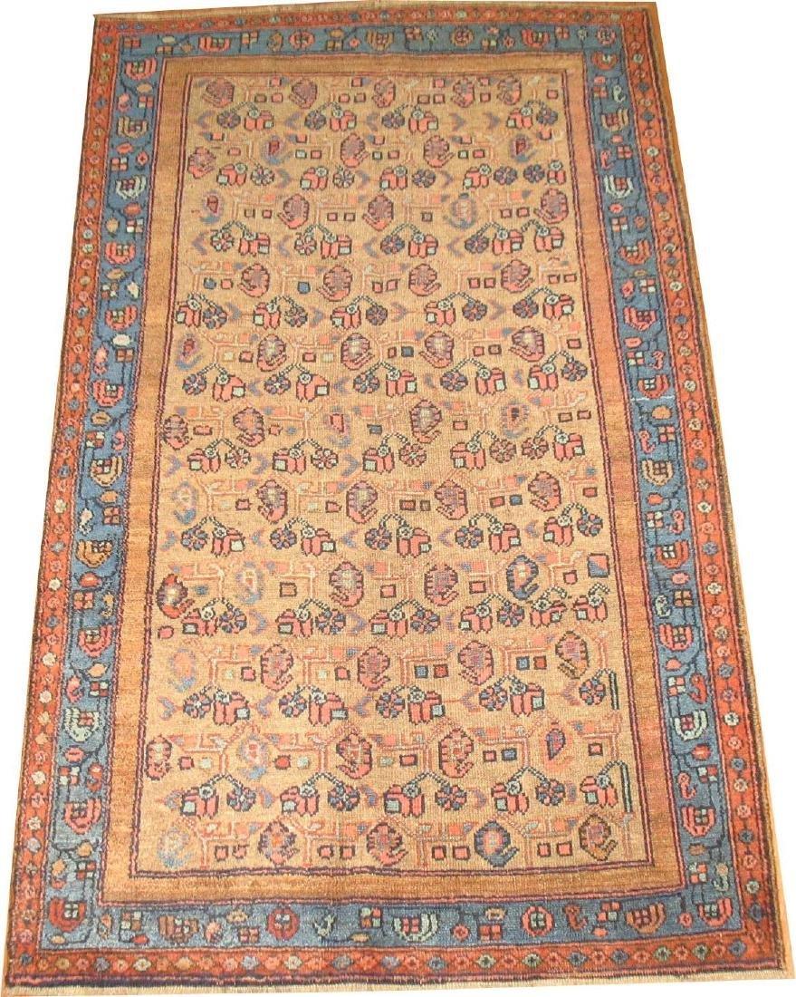 Antique NW Persian Malayer Hamedan Serab Rug 3.8x6.2