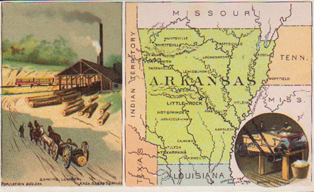 Arbuckle Arkansas 1889