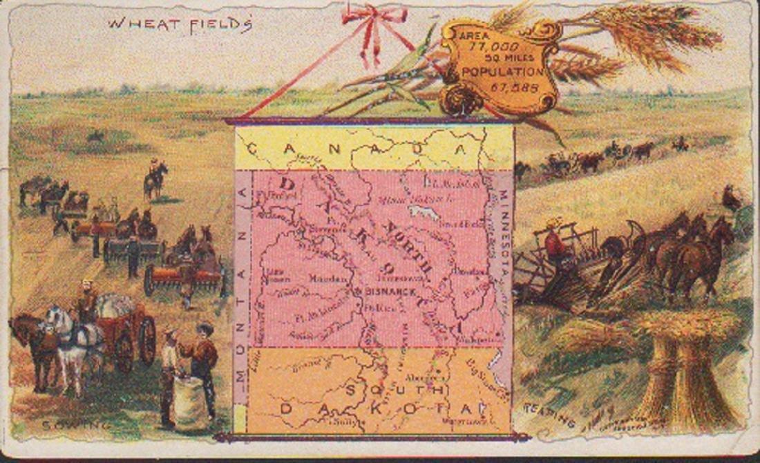 Arbuckle North Dakota 1889