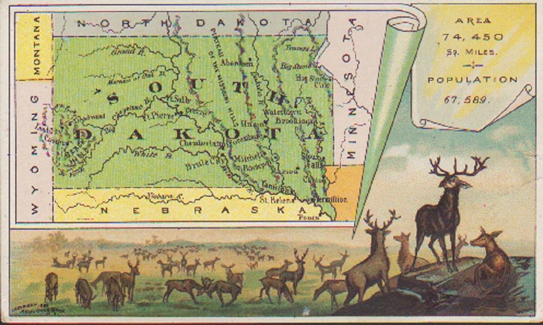 Arbuckle South Dakota 1889