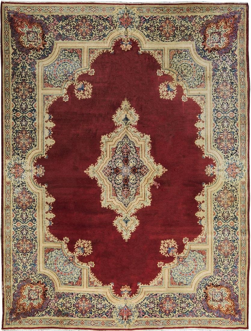 Antique Persian Fine Rug 10.3x13.10