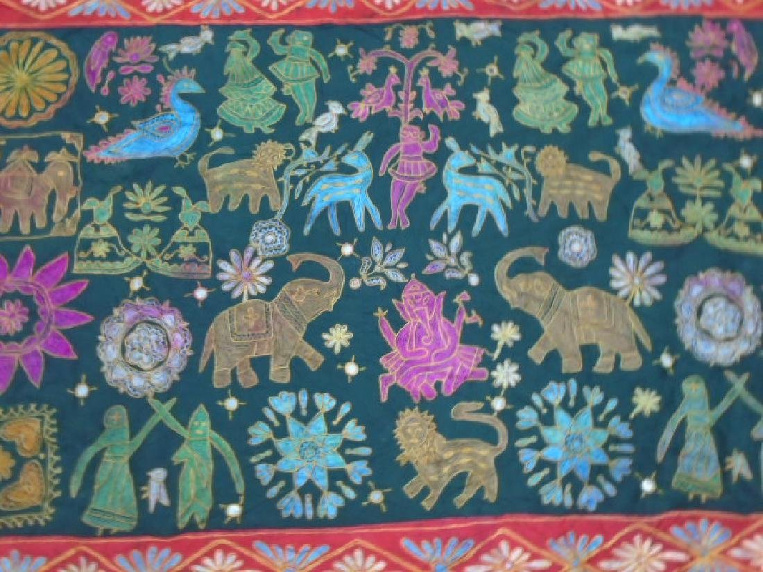 Wall Hanging Embroidery Rug 4.9x3.1
