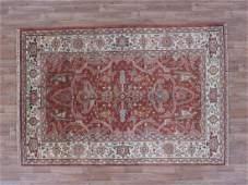 Indo Serapi Rug 5x7.4
