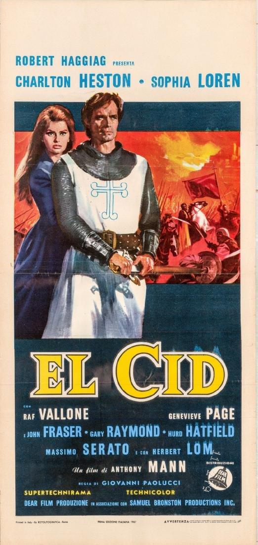 El Cid 1961 Italian Lcandina Charlton Heston
