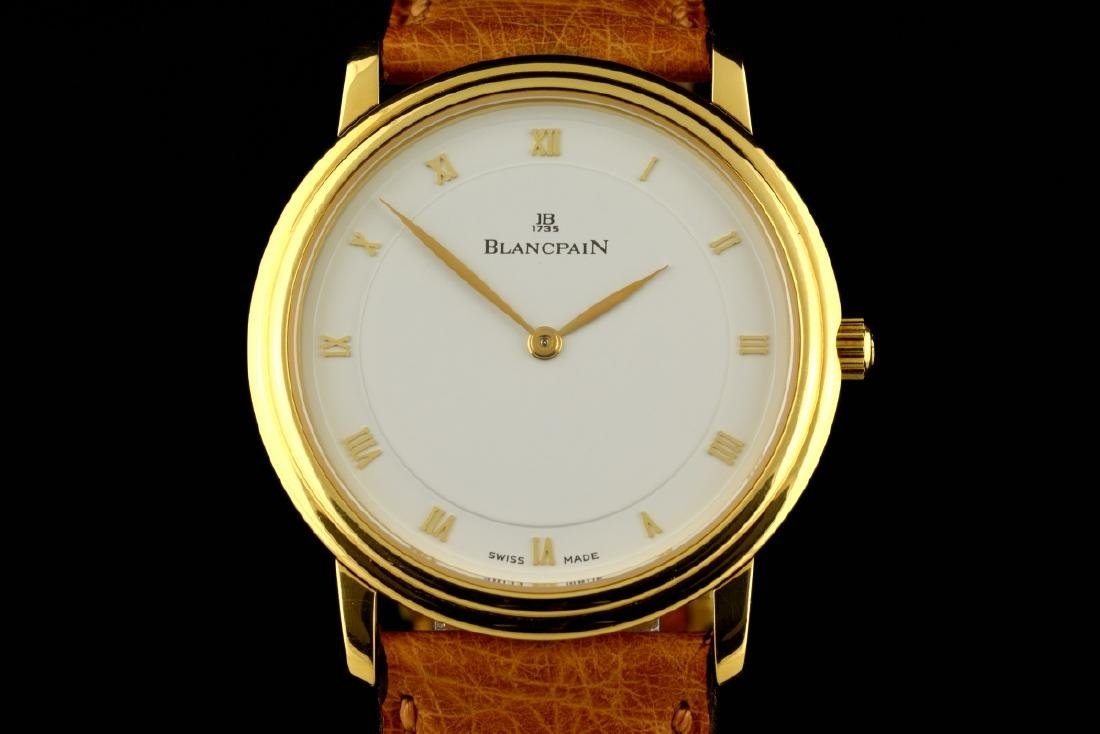 N.O.S Blancpain Villeret Ultra Slim Yellow Gold - 18K