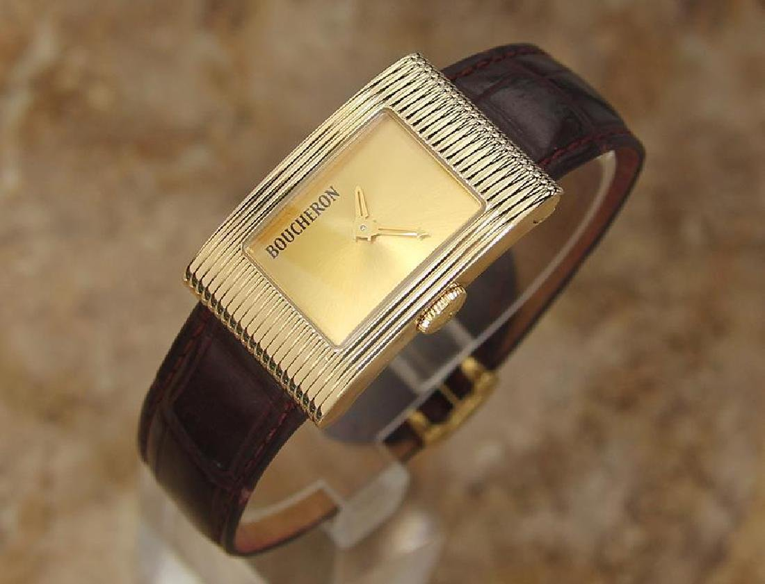 Boucheron Reflet Ladies 18k Solid Yellow Gold Quartz - 2