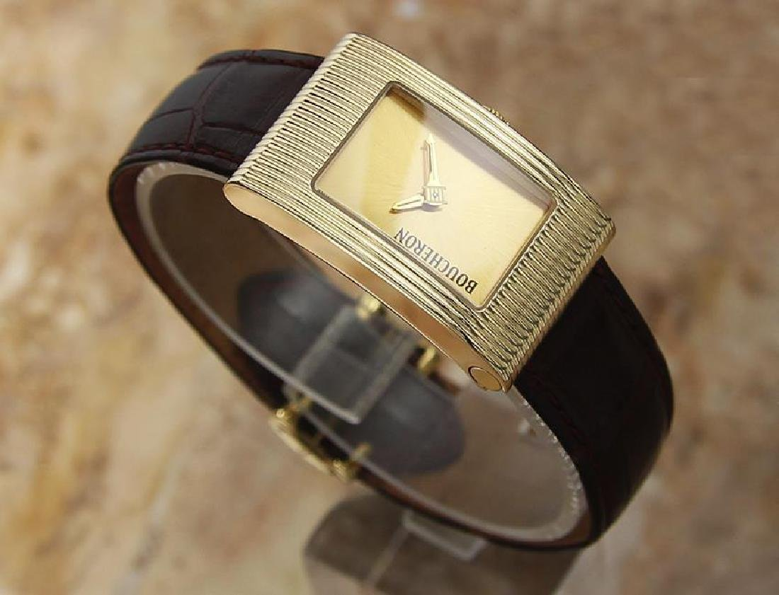 Boucheron Reflet Ladies 18k Solid Yellow Gold Quartz - 3