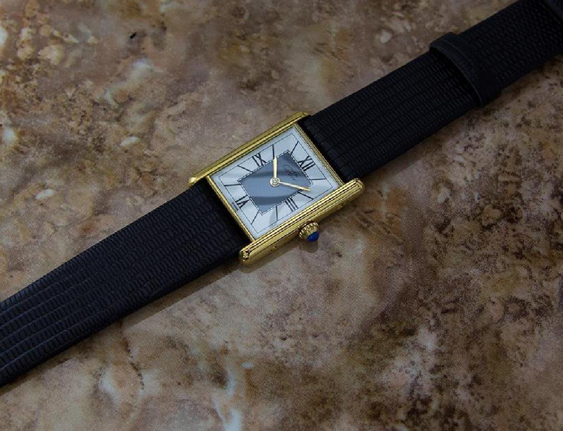 Cartier Must De Cartier Unisex 30mm Solid 925 Silver - 7