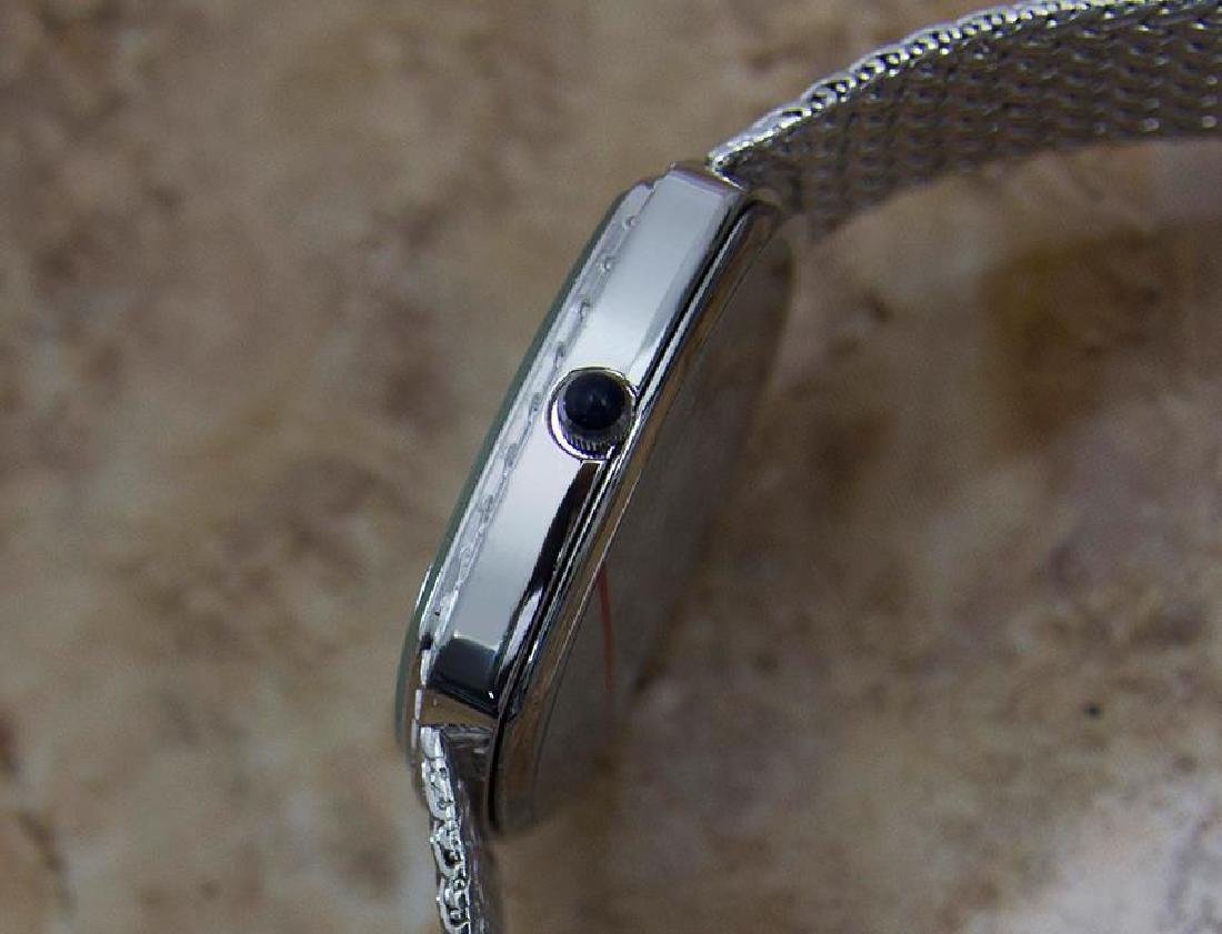 Cyma Swiss Made Unisex 1980s Quartz Luxury Stainless - 4