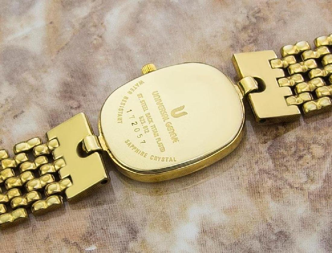 Universal Geneve Swiss Made Ladies Gold Plated Original - 10