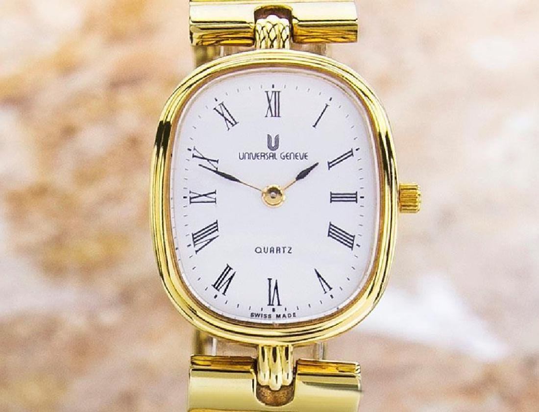 Universal Geneve Swiss Made Ladies Gold Plated Original