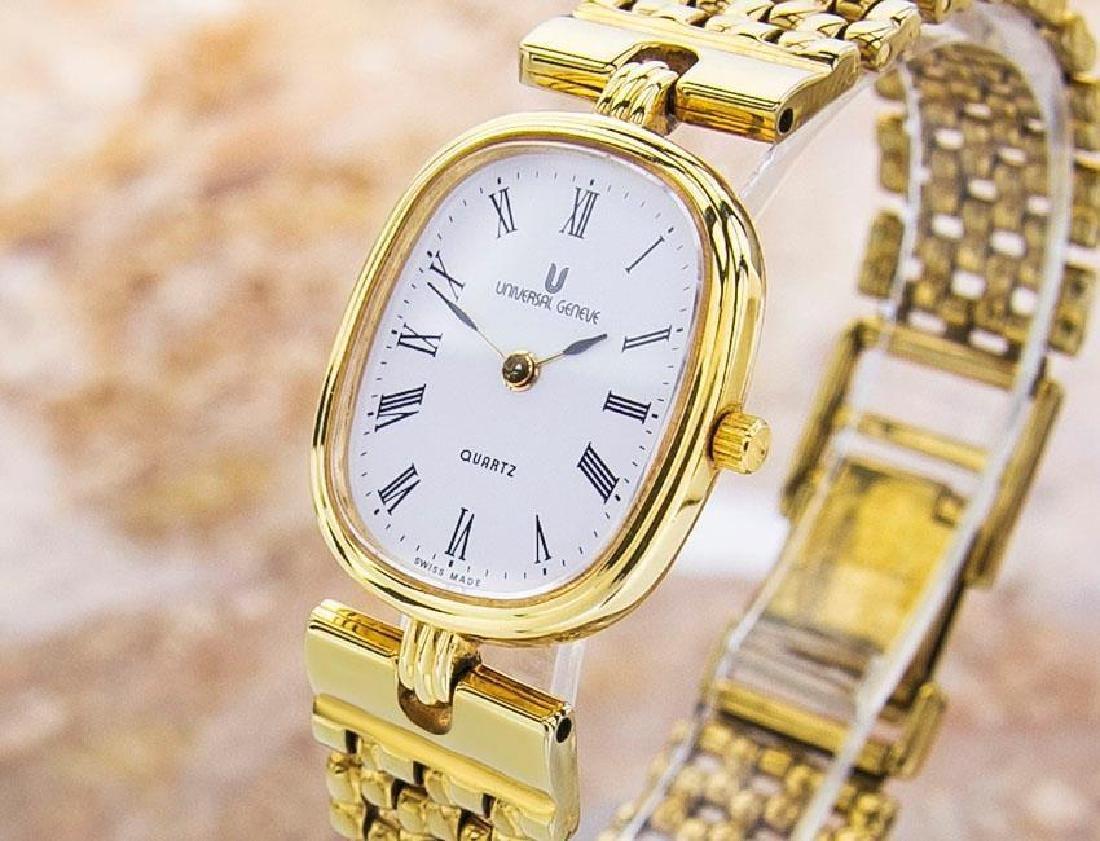 Universal Geneve Swiss Made Ladies Gold Plated Original - 2